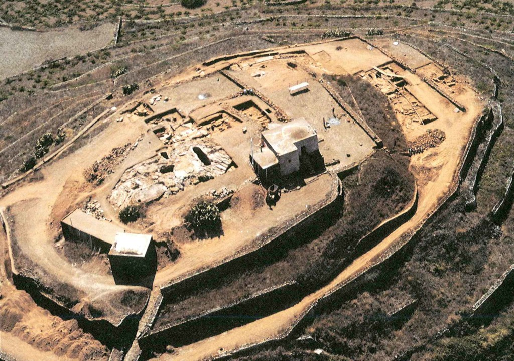 foto aerea dell'acropoli di San Marco e Santa Teresa