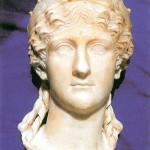 ritratto marmoreo di Antonia Minore