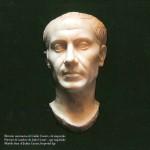 ritratto marmoreo di Giulio Cesare